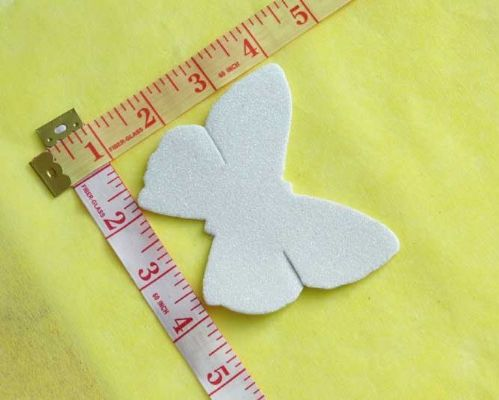 Sew On| iron on |Applique Motif  | Butterfly B 12